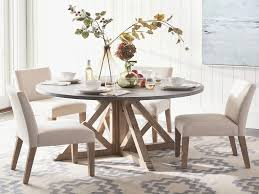 Furniture Round Dining Room Tables Elegant Brooks Round Dining