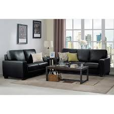 Vernazza Top Grain Leather Sofa And Loveseat