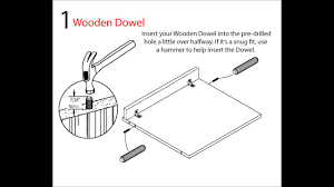 Ameriwood Dresser Assembly Instructions by Ameriwood Industries Assembly Tip Videos How To Us A Wooden