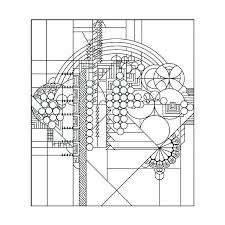 Frank Lloyd Wright Coloring Pages Free Best Ever Stained Glass Window Designs Of
