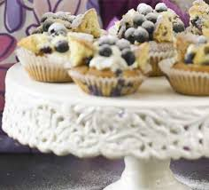 Blueberry Butterfly Cakes Recipe