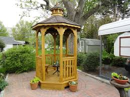 Harmonious Pool Pavilion Plans by Amish Wood Gazebos Wood Gazebo Pricing Amish Designers Favs