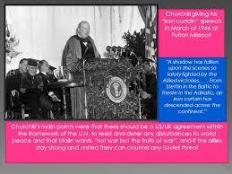 Churchills Iron Curtain Speech by Communism Vs Capitalism Ussr Vs Us Us Vs Them Ppt Download