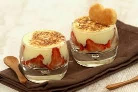 recette de gratin de fraises et petit sablé à la facile