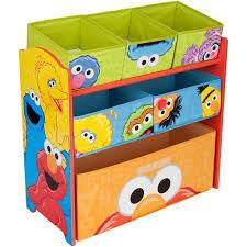 delta children sesame street multi bin toy organizer walmart com
