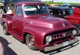 100 F100 Ford Truck Araness Blog 1953 Pickup Maroon