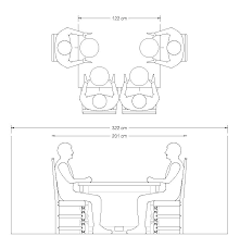 Image Wide Dining Table With Room For Two Each End Guide To Choosing The Ideal Width