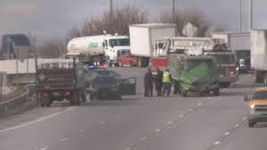 100 Propane Truck Multicar Crash Involving Propane Truck On I90 In Cleveland