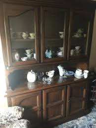 American Pine Dining Room Dresser Table 6chairs