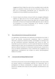 accord cadre de dakar entre les trois grands poles politiques maurita