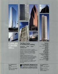 Ykk Curtain Wall Hong Kong by Cupples Curtain Wall Curtain Collections