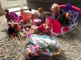 Barbie Bundle - Dolls Kitchen Horse Stable Clothes Bed Children Table &  Chairs Dog | In Brighton, East Sussex | Gumtree