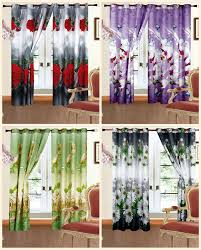 Ebay Curtains With Pelmets Ready Made by Beautiful Pair Of Ready Made 3d Photo Print Curtains Roses Daisy