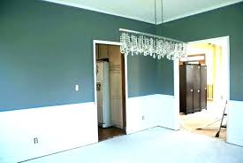 Painting Ideas For Dining Room With Chair Rail Painted Paint