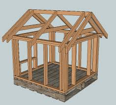ana white build a east fork free doghouse or playhouse or