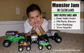 MONSTER JAM Coming To Cleveland ~ WIN Suite Seats + Pit Party Passes ...