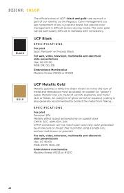 UCF Brand Book And Graphic Standards By University Of Central Florida