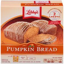 Libbys Pumpkin Muffins Chocolate Chips by Libby U0027s Classic Pumpkin Bread Kit With Icing 56 1 Oz Box