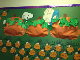 Spookley The Square Pumpkin Activities For Kindergarten by Charlie Brown Fall Pumpkin Bulletin Board For The Classroom Fall