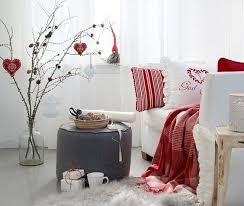 dekoideen weihnachten in weiß und rot für schöne und frohe