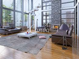 100 Interior Design High Ceilings Ceilings Living Room With Fireplace Photos By Canva