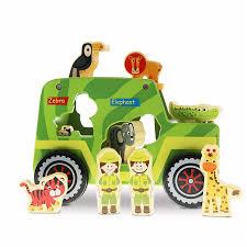 100 Truck Toyz Store Amazoncom USA Shape Sorter Wooden Toys Educational Toys
