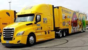 100 Jayski Trucks Freightliner Cascadia MMs Toyota Hauler NASCAR Transporter