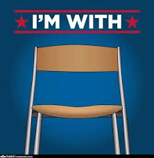Michelle Obama Empty Chair by I U0027m With The Empty Chair Politicomments Com