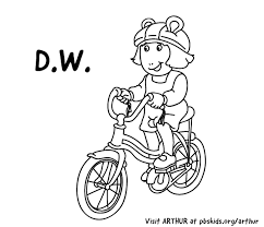 DW Riding A Bike