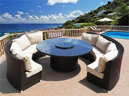 Semi Circle Outdoor Patio Furniture by Home Design Dazzling Round Outdoor Furniture Wicker Home Design