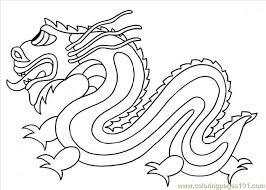 Photo Chinese Dragon Dl11041 Coloring Page