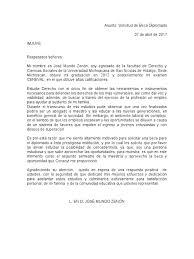 Carta De Solicitud De Beca Maestria Apanageetcom