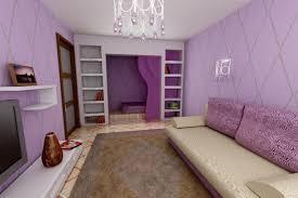 ausgestattetes wohnzimmer schlafzimmer 18 quadrate design