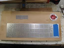 Custom Lady Bug Cribbage Board
