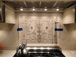 kitchen backsplashes painted tiles interior design unique
