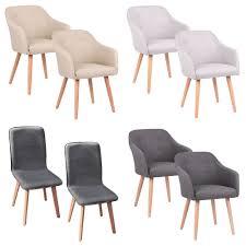 details zu 2 4 6 8 set stühle esszimmerstühle stuhl sessel armlehne 3 farben kingpower