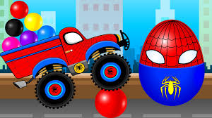 Learn Colors For Kids With Spiderman & Truck Cartoon And Nursery ... Tow Truck Song Vehicles Car Rhymes For Kids And Childrens Assembly Lightning Mcqueen Color Nursery Fire Chick Monster Trucks Mcqueen Mater Destroy Police Cars Fun Spiderman Little Red Monster Songs Rig A Jig Mack For Children Learn Colors And Stunts Tricks Captain America Ironman Crazy Plastic Ball Abc Twinkle Star Rhyme Busta Rapper Looking Built Like A Mac Truck The Wheels On Garbage Original Vehicle Driving Truck In Video