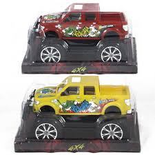 100 Big Monster Truck Wholesale Childrens Wheels Pick Up Toys In 2 Colors