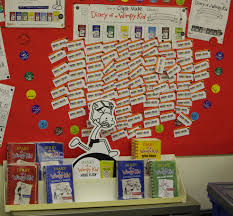 School Project Poster Board Wimpy Kid Library Reading Marathon A Hit Agency