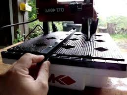 Mk 170 Wet Saw Instruction Manual by Tile Cutting Saw Mk170 Youtube