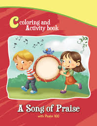 Coloring And Activity Book Psalm
