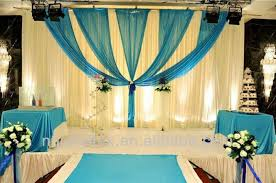 Fabric For Curtains Cheap by 2018 Various Style 3m 3m Ice Silk Fabric Curtain With Swag For