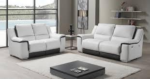 canapé cuir relaxation pikunis relaxation électrique ou fixe personnalisable sur univers