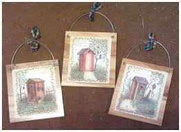 incredible primitive outhouse bathroom decor picture inspirations
