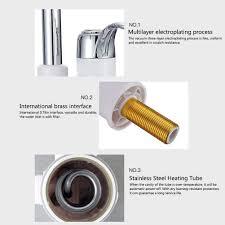 Elektrischer Wasserhahn Durchlauferhitzer Armatur Mischbatterie Boiler Fllyingu Elektrische Wasserhahn Hahn Spültisch