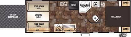 5th Wheel Toy Hauler Floor Plans by Forest River Grey Wolf Rvs For Sale Camping World Rv Sales