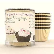 Amazon Simple Home Creations Nonstick Silicone Muffin Cups 12