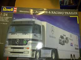 Truck 2584: Revell Mercedes-Benz Actros Semi And Racing Trailer 1:24 ... Revell Peterbilt 359 Cventional Tractor Truck Model Kit Ebay Wiring Schematics Diagram Ebay Find Danger You Are About To Be Kod By A 97 Dcp Red White 379 36 Sleeper With Day Cab Only 1 64 358m 1968 Excellent Beautiful Toy Cattle Trucks Best Resource In Miami Fl For Sale Used On Buyllsearch 379exhd Show Custom Hot Rod Restoration Cool Dump North Carolina Peterbilt Cabover Cabover Pinterest Renze Seed Dry Van Trailer 164 Diecast Liberty Long Haul Trucker Newray Toys Ca Inc