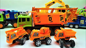 100 Big Truck Toys How To Dismantle The Super Small Truck And Big Truck Toys Learn Truck Toys And Car Toys For Kids