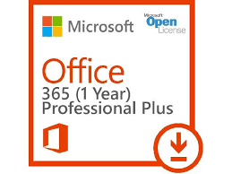 Microsoft fice 365 ProPlus Subscription license 1 year 1